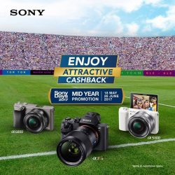 [Cathay Photo] It's the LAST WEEK of Sony's Mid-Year Promotion, so if you haven't bought the Sony camera