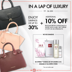 [Metro] Ladies, it's alright to indulge and pamper yourselves.