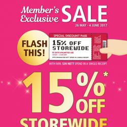 [POPULAR Bookstore] Last 3 days of the Member's Exclusive Sale!