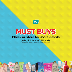 [Watsons Singapore] Enjoy BUY 2 GET 1 FREE MIX AND MATCH deals on your favourite picks across participating brands like Maybelline, Uriage