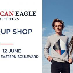 [American Eagle Outfitters] We're hosting a pop up event at VivoCity from 5 to 12 June!