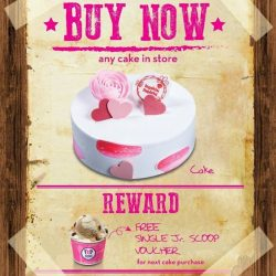 [Baskin Robbins] Attention to all ice cream cake lovers!