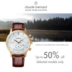 [Claude Bernard] Swiss Made watches should not come at a hefty price tag and IT JUST GOT BETTER!