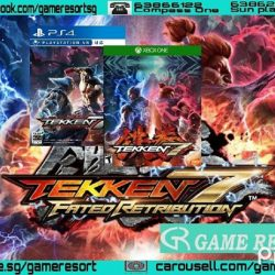 [GAME RESORT] PS4|XB1 Tekken 7,Raise your fists and get ready for the ultimate battle on the next generation of home