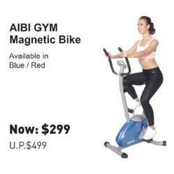 [AIBI] Visit the Largest Fitness Retailer in Singapore.