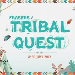 [Changi City Point] Make a beeline for our mall, because Frasers Tribal Quest has begun!