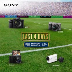 [Cathay Photo] LAST 4 days left till the end of Sony Singapore's Mid-year Promotion!