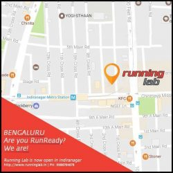 [Running Lab] RUNNING LAB INDIA OPENS ITS 2ND OUTLET IN BANGALORE!