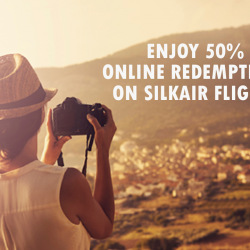 [Singapore Airlines] From now till 11 July 2017, enjoy a 50% miles discount when you redeem your KrisFlyer miles online for a