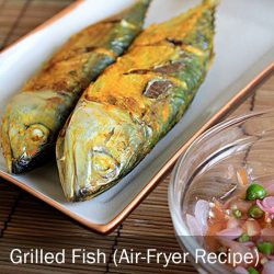[THE SEAFOOD MARKET PLACE BY SONG FISH] Grilled Fish (Air-Fryer Recipe)Grilling fish with just an air fryer?