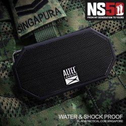 [Black-Tactical.com] WATERPROOF and SHOCKPROOF Speaker for you to bring outfield!
