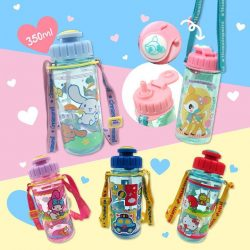 [Sanrio Gift Gate] If you like our previous series of straw water bottle with strap, you will like this too!