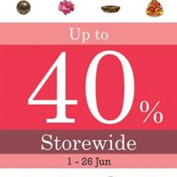 [Stoneage Collection] Come to Stoneage Collection this Great Singapore Sale 2017 from between 1 - 26 Jun to enjoy up to 40% discount