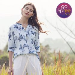 [Bossini Singapore] Enjoy 30% off items from the Summer Breeze Collection simply by downloading the GoSpree app on your phone and use