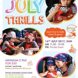 [Ippudo Express] Dear Customers,We will hold Child Kitchen Event on 16th July, Sunday, in Singapore.