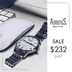 [Arbutus] Arbutus takes pride in its mechanical watch-making techniques and regards it as a form of fine art.