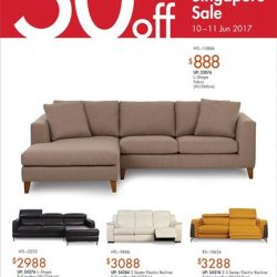 [Sofa Outlet] The Great Singapore Sale Enjoy up to 50%* off storewide.