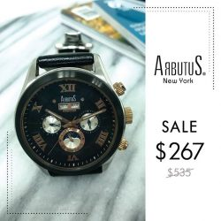 [Arbutus] The perfect harmony of the art of traditional watch-making and modern styling comes only from a progressive watch brand