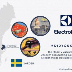[Electrolux] Did you know, the home sales of vacuum cleaners began in Sweden?