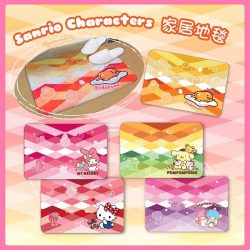 [Sanrio Gift Gate] The new colourful Sanrio character floor mat is sure to brighten up your home!