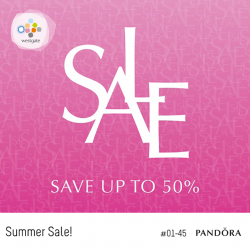 [Westgate Mall] Summer is here and so is PANDORA's Summer Sale!