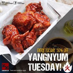 [CHICKEN UP] Now Mark your Tuesdays!
