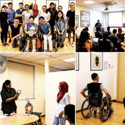 [Disabled People's Association] On 8 June 2017, DPA organised disability awareness talk and interaction session with our inclusion ambassador Margaret for the participants