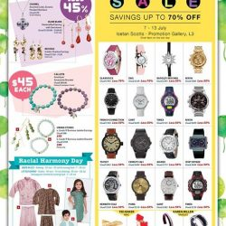 [Isetan] Our 45th Anniversary Sale continues at Isetan!