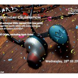 [Stereo] Noble Audio is celebrating the 45th birthday of its co-founder, the Wizard (aka Dr.