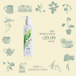 [Crabtree & Evelyn Singapore] Experience the magnificence of spring with our Lily range - the mix of hyacinth, watery greens, woodland moss and musk will