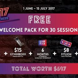 [GYMM BOXX Silver] GYMMBOXX'S GREAT SINGAPORE SALES ‼️ 1 June 2017 - 15 July 2017Get your free SKECHERS products now when you sign