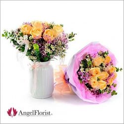 [BANK OF CHINA] Brighten someone's day with a fresh bouquet of flowers from AngelFlorist.