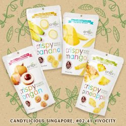 [Candylicious] Crispy Veg and Fruit Crispy Longan is perfect for an alternative snack with a delicious, naturally sweet taste, free from