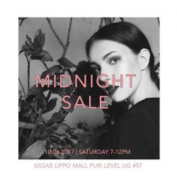 [Sissae] 50% OFF - Midnight Sale - SISSAE LIPPO PURI MALL