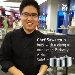 [WMF] Chef Sawarto is back with more Hari Raya delicacies!