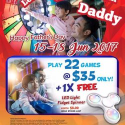 [Timezone] Celebrate Father's Day this week at Timezone!