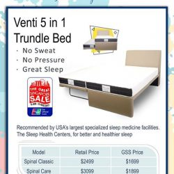 [Englander] Englander Trundle Bed promotion is now on.