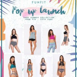 [BHG Singapore] Get ready for your hot summer with our great deals of Ladies' Swimwear and swimming accessories from Funfit at BHG