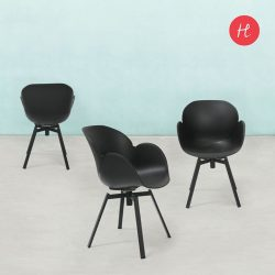 [HomesToLife] Dine in ComfortNot only is the Flora dining chair comfortable, it is good to look at too.