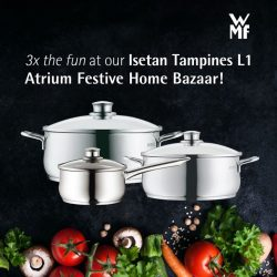 [WMF] Sweeten the pot with a dose of fun at our current Isetan Tampines L1 Atrium Festive Home Bazaar from now –