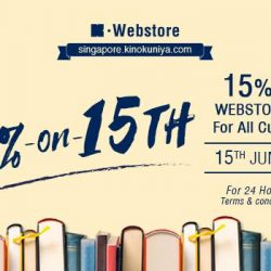 [Books Kinokuniya] 24 hours only promotion, exclusively on Kinokuniya Webstore Singapore for all customers!