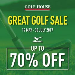 [Golf House Singapore] The Great Singapore Sale is on-going!