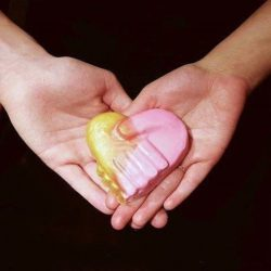 [Lush Singapore] Hand of Friendship soap is a limited edition campaign product, and 100% of the sales, minus GST, will go to