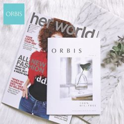 [ORBIS] Have you got your Her World magazine this month?