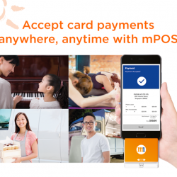 [M1] M1 Mobile Point-Of-Sale Solution (mPOS) allows everyone, from a yoga instructor to a music teacher, to easily accept