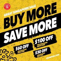 [Crumpler] Spend More and Save More at Crumpler this GSS.