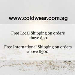 [ColdWear] New arrivals are up in our e-store!