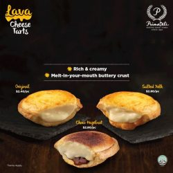 [PrimaDeli] Calling out to all fans of cheese tarts!
