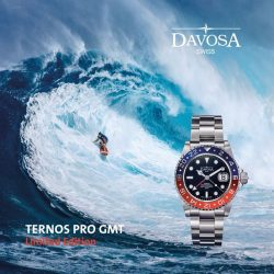[All Watches] The new limited edition of the DAVOSA Ternos Professional GMT series is here in Singapore!