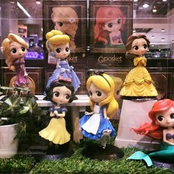 [Simply Toys] Banpresto Qposket princesses are on display at Takashimaya SquareStocks available as of now: - Cinderella x 5 - Snow White x